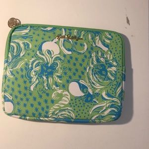 Lilly Pulitzer Green and Blue IPad Case Any Gen